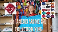 My LeMieux saddle pad collection vlog