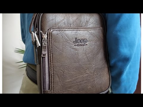 Mens leather bag from AliExpress