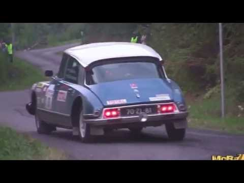 Citroen DS 23 ie Rally action