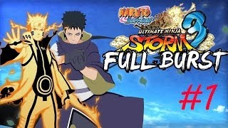 Naruto Shippuden Ultimate Ninja Storm 3 Full Burst - PC Walkthrough Part #1 [English]