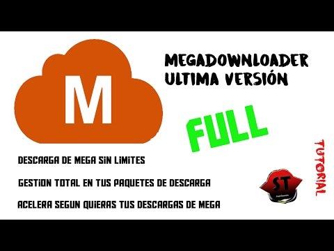 Descargar Instalar y Usar MegaDownloader -Ultima versión-. Soluciona el Problema de Mega