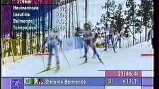 1998 OWG Nagano 15 km M Pursuit LAZUTINA DANILOVA NEUMANNOVA