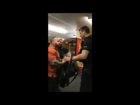 BodyBuilder Owned Cops Pc Dickhead Sends His squad