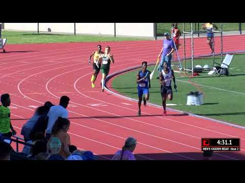 Brian Bell Turns On The JETS To Win DI NJCAA 4x800m Championship