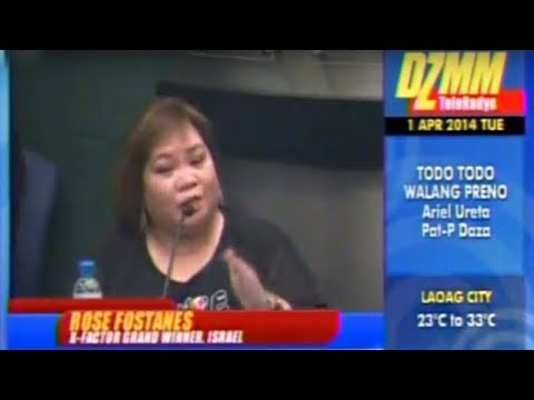 Repeat Rose Fostanes sings I Will Survive by ABS-CBN News