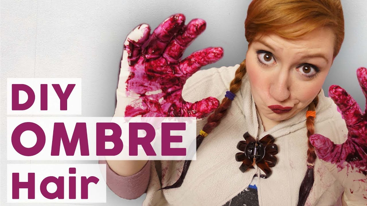dip dye ombre look tutorial mit tini youtube. Black Bedroom Furniture Sets. Home Design Ideas