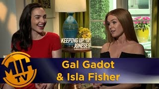 Gal Gadot & Isla Fisher Keeping Up With The Joneses Interview
