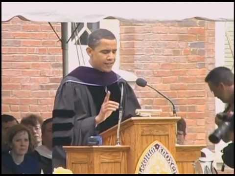 Barack Obama Gives 2005 Commencement Address at Knox College