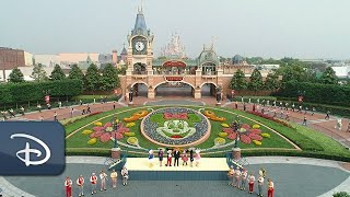 Celebrating the Magic at Shanghai Disneyland