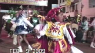 Zampoñistas del Altiplano 2009 parada