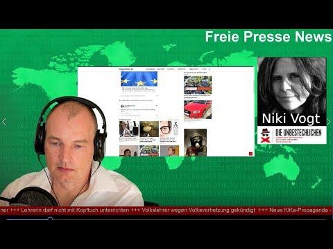 Freie Presse News: Iran-Krise, Volkslehrer gekündigt, neuer KiKa-Skandal und Kopftuchverbot