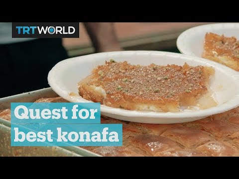 Traveling Palestine in search of the best konafa
