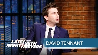 David Tennant Talks Playing Jessica Jones