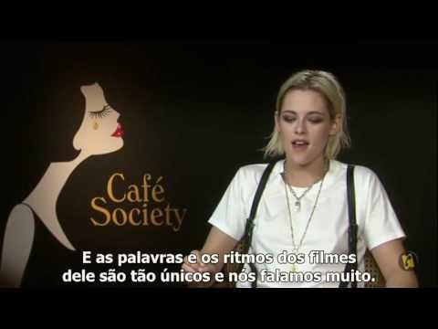 [LEGENDADO] Kristen Stewart fala sobre Woody Allen e Café Society