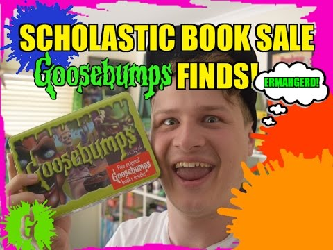 Scholastic Book Sale Goosebumps Finds!