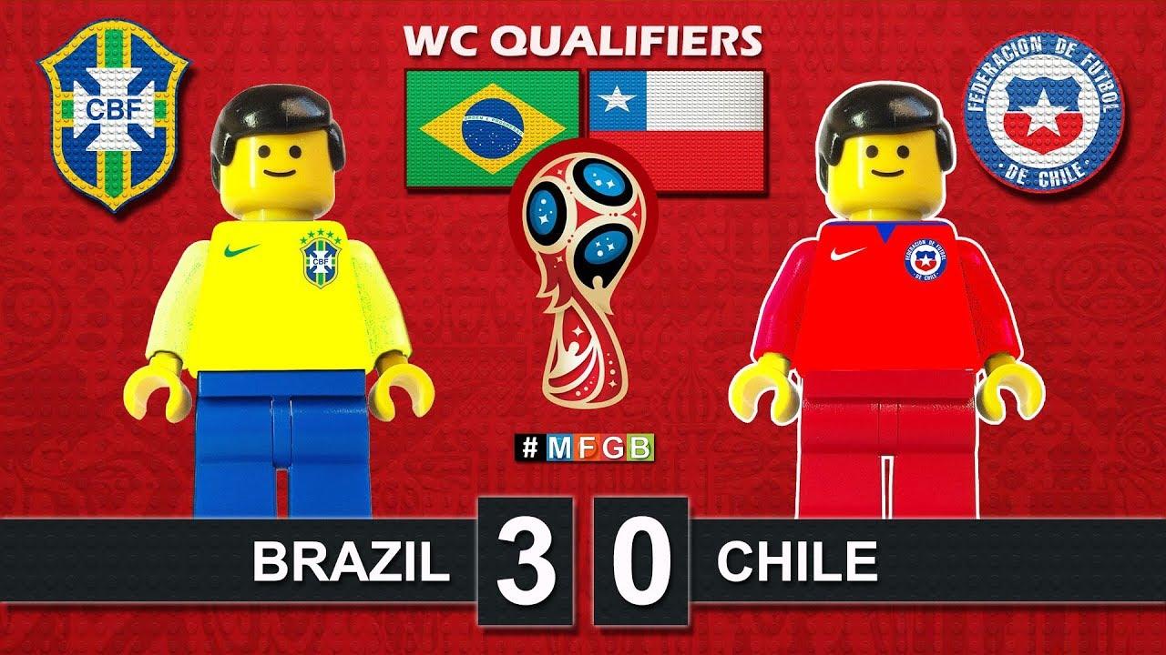 Download Brazil vs Chile 3-0 • World Cup 2018 Qualifiers (10/10/2017) • CBF Lego Highlights Film Brasil