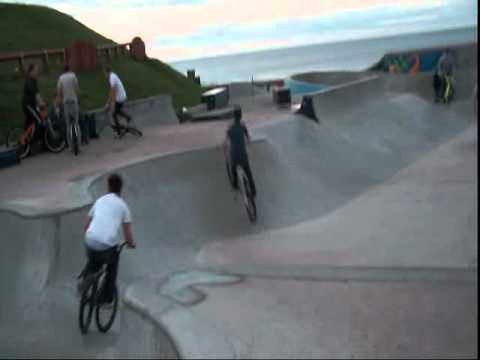 Whitley Bay Panama Skate park 20.8.10 .wmv