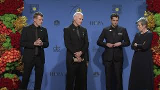 'Three Billboards Outside Ebbing, Missouri' - 2018 Golden Globes - Full Backstage Interview