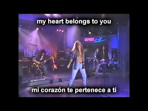 Steelheart - She's Gone *LIVE* (Lyrics/Letra En Español)