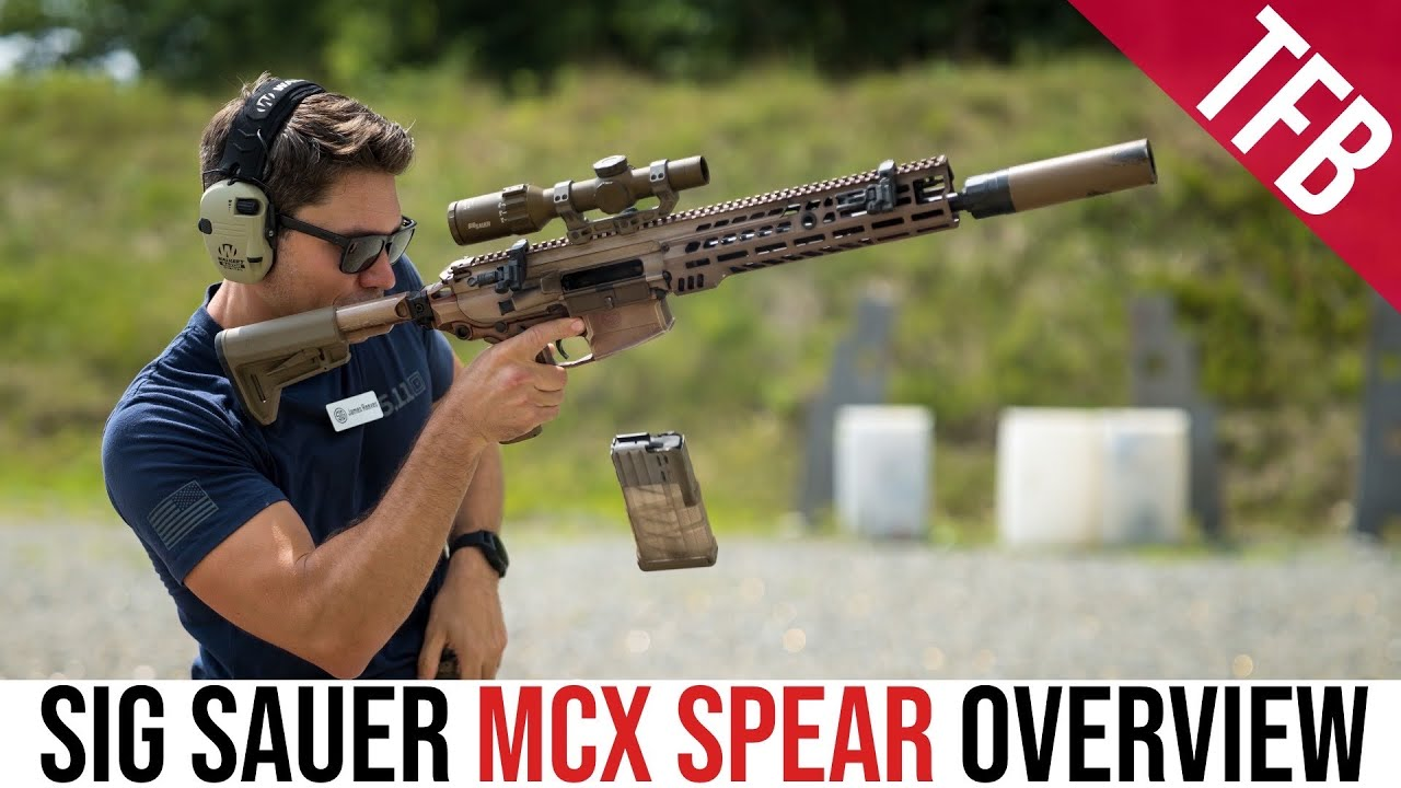 The Sig Sauer MCX Spear NGSW Rifle #GunFest2021