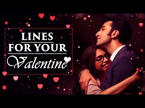 Romantic Bollywood Dialogues You Can Use | Valentine's Day Mashup 2018 |