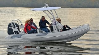 GALA Viking V500 with 100HP - 16.5' long cruising RIB with Aluminium hull