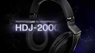 Pioneer HDJ-2000MK2-K Flagship Professional DJ Headphones Official Introduction