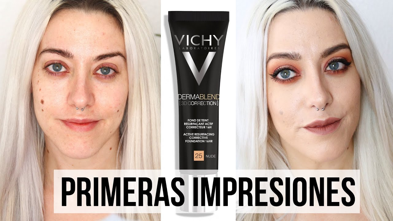 maquillaje vichy dermablend 3d