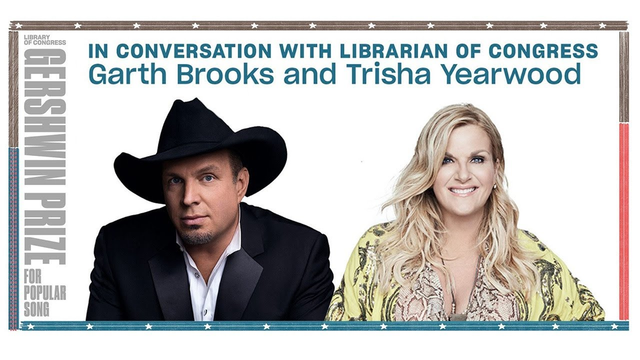 Garth Brooks & Trisha Yearwood in Conversation with Librarian of Congress Carla Hayden