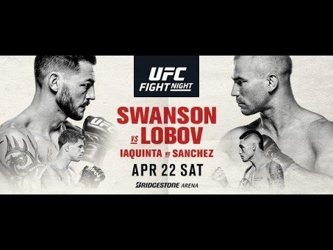 UFC Nashville Swanson v Lobov Fight Predictions