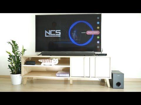 Sony sound-bar versus LG TV sound & bass excursion test