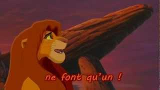 Le Roi Lion 2 - Nous sommes un (lyrics)