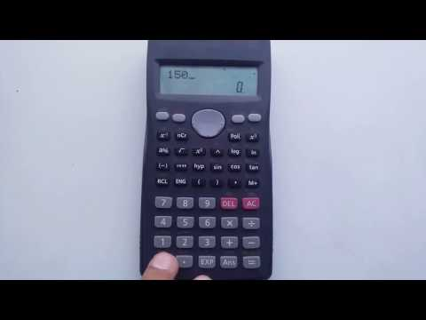 How To Find Percentage On Scientific Calculator Easy Way