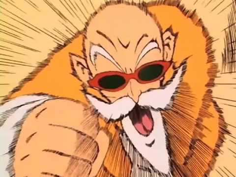 Red Ribbon Army Vs Master Roshi Full Fight