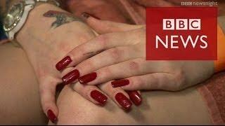Mega Brothel: Inside one of Europe's largest legal borthels - BBC News