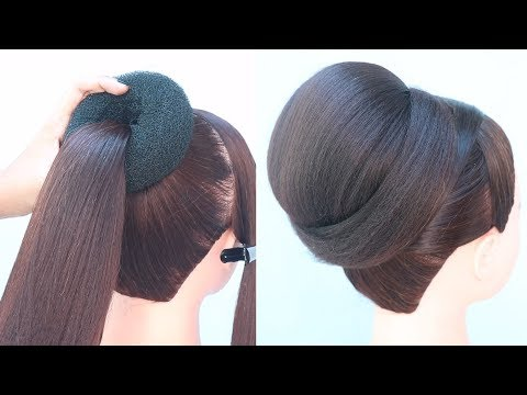 quick-everyday-bun-hairstyle-in-2-minute-||-hair-style-girl-||-new-hairstyle-||-easy-hairstyles