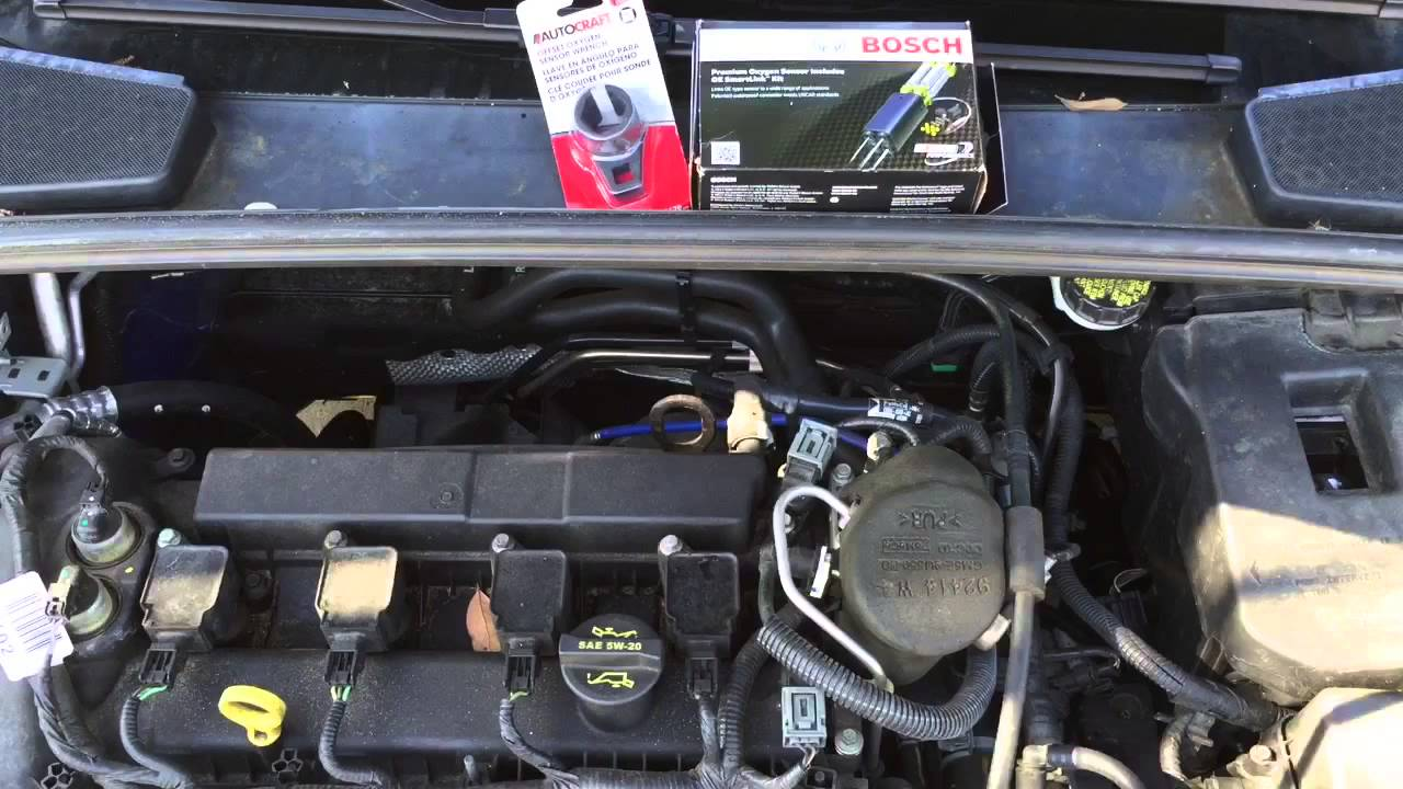 maxresdefault 2012 ford focus oxygen sensor replacement youtube Ford F-150 Wiring Diagram at eliteediting.co