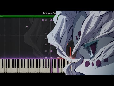 Kimetsu No Yaiba EP 20 - 21 OST - Rui's Theme [Synthesia Tutorial]