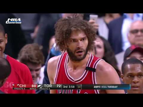 Chicago Bulls vs Toronto Raptors   Full Game Highlights  March 21 2017