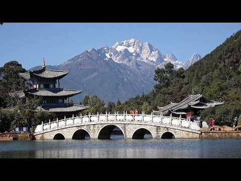 Old Town of Lijiang, Yunnan, China in 4K (Ultra HD)