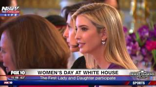 WATCH: Melania and Ivanka Trump Celebrate Women