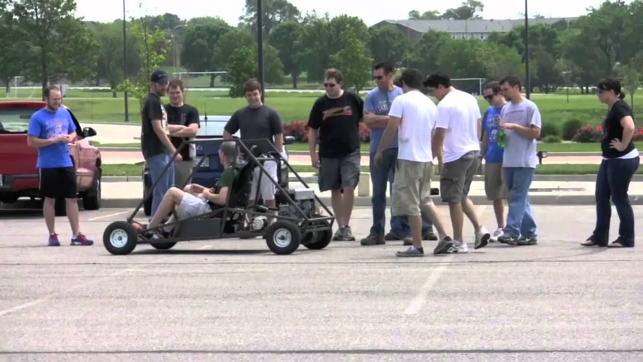 Ku Ecohawks Hybrid Go Karts