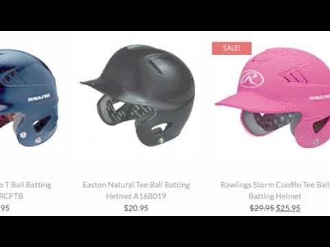 Tee Ball Helmet   Baseball Bargains
