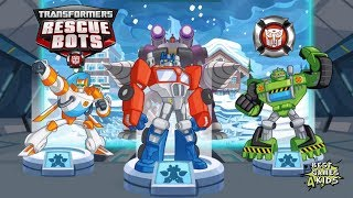 Transformers Rescue Bots: Disaster Dash Hero Run   Rescue Bots save Citizens! By Budge