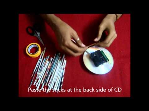 Best out of waste DIY Wall Clock YouTube