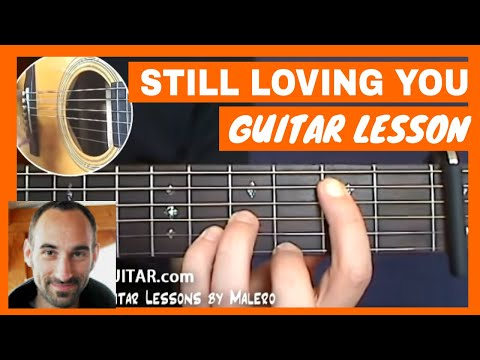 Scorpions - Still Loving You Guitar Tutorial