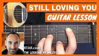 Still Loving You Guitar Lesson - Part 1 Of 4