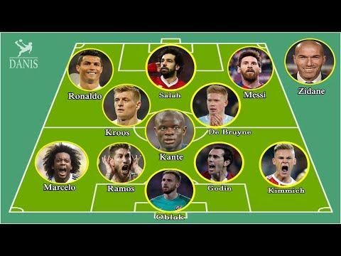 Team Of The Year 2018 Ft. Salah, Zidane, Ronaldo, Messi