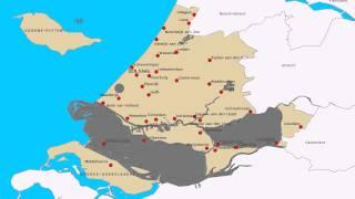 Topografie Provincie Zuid-Holland