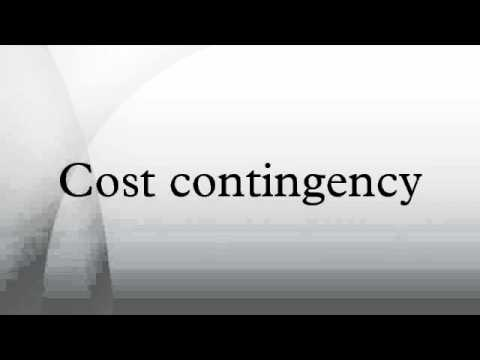 Cost contingency